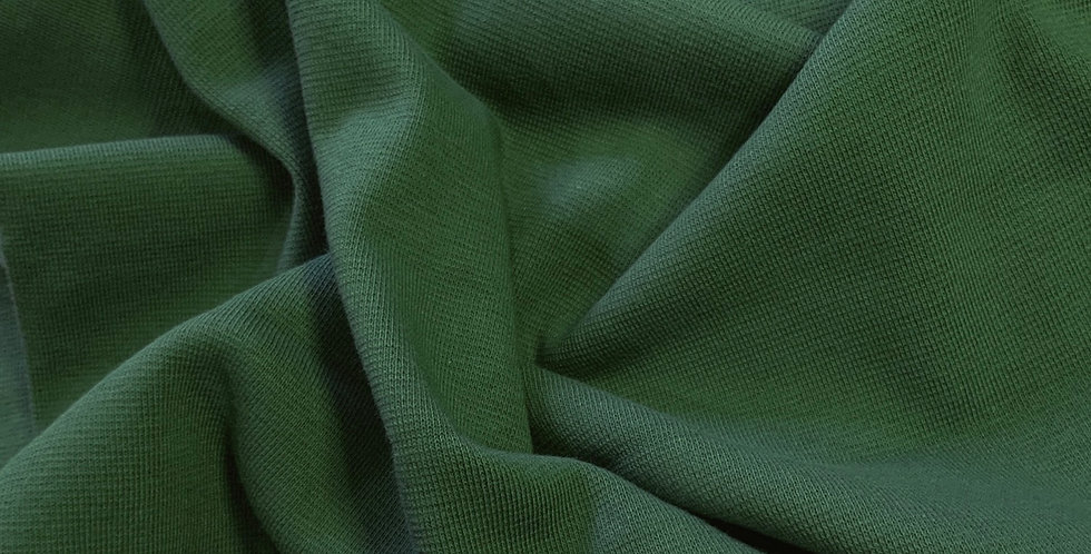 Paapii Green Organic Cotton Ribbing 25cm piece…