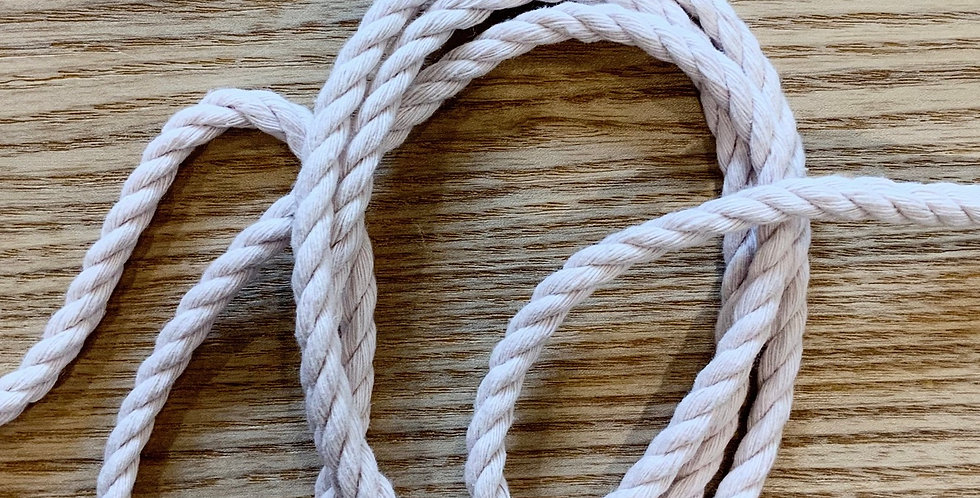 Faded Nude Pink Cotton Cord...