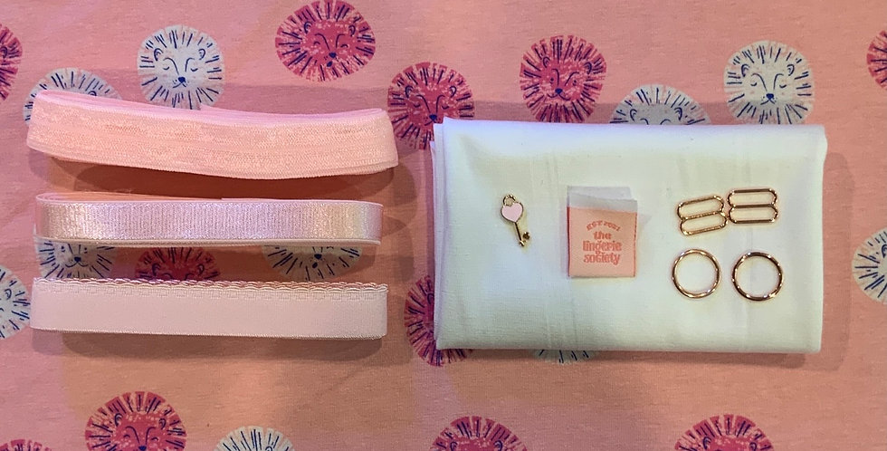 Pink Lions Ruby Bralette Kit…