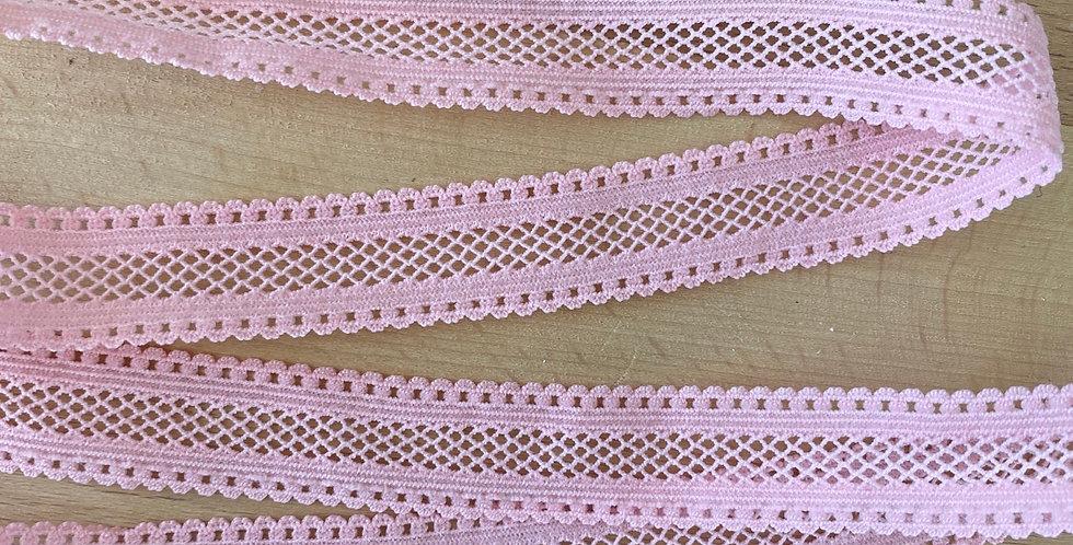 Pink lattice lightweight elastic