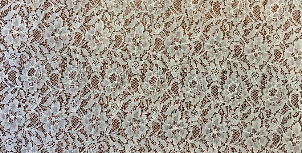 Amelie Soft Corded Ivory Lace...