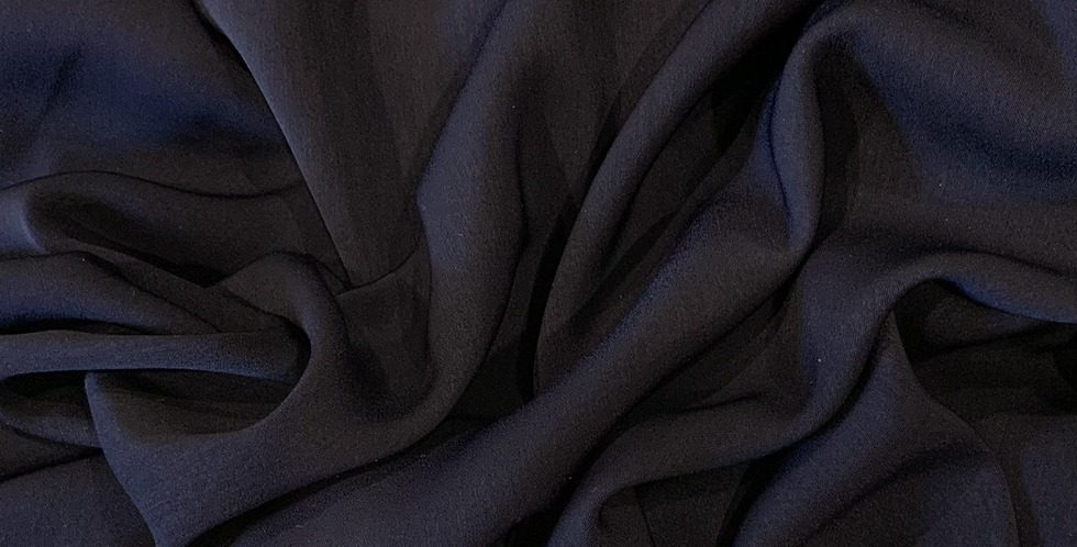 Navy Polyester Microfibre Suiting...