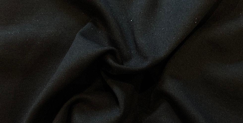 Black Ponte Knit Remnant …