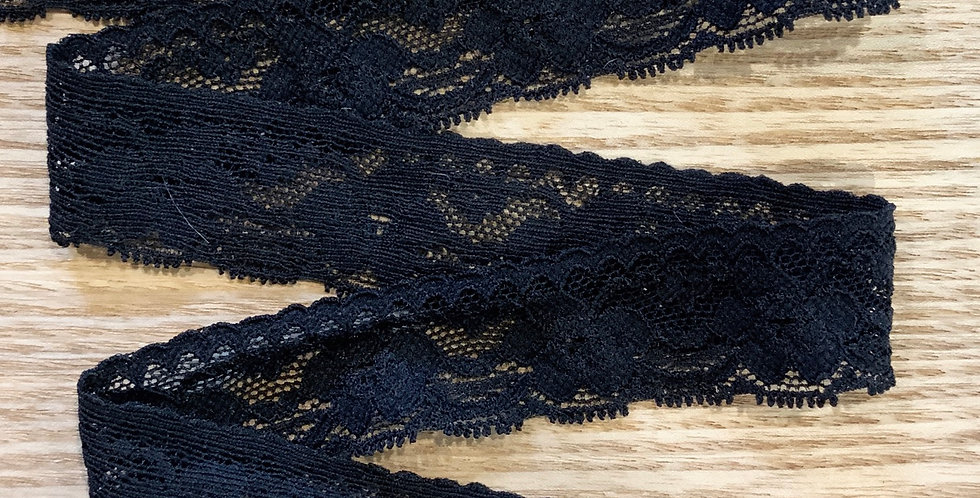 Milan Black Stretch Lace...