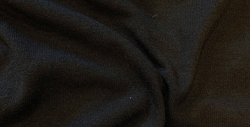 Black Lightweight Jumper Knit Remnant SECOND
