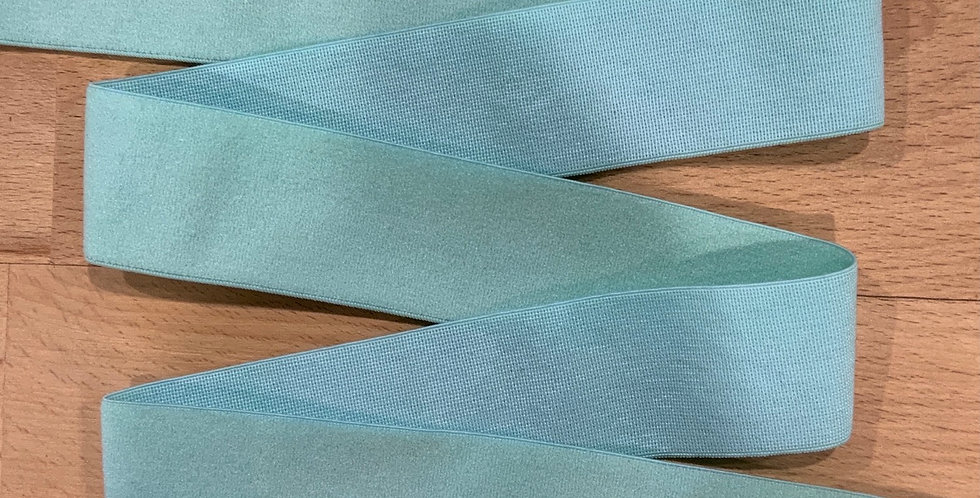Mottled Spearmint 30mm Soft Strapping Elastic…