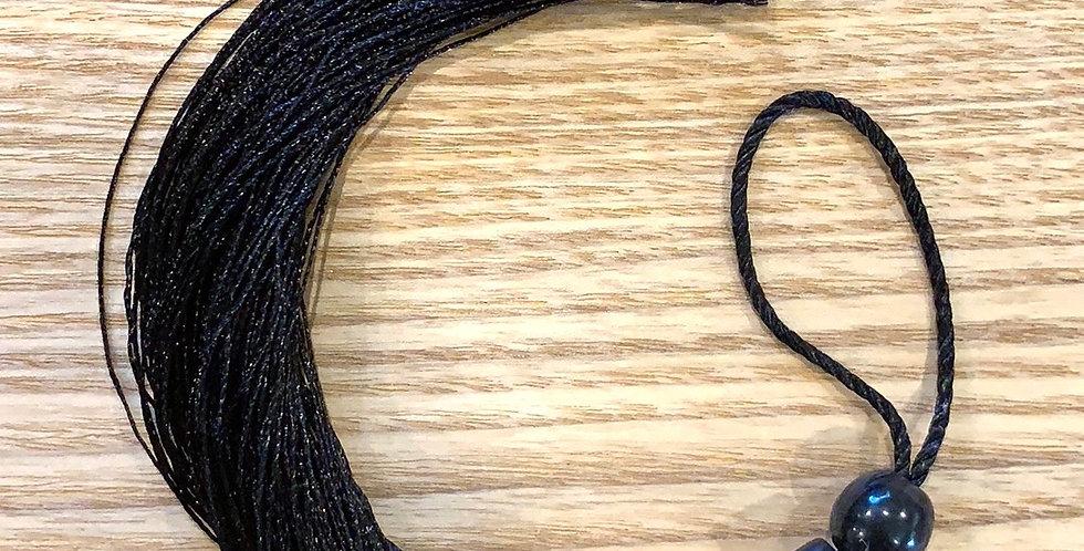 Black Long Tassel