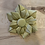 Thumbnail: Gold Rosette Satin Brooch