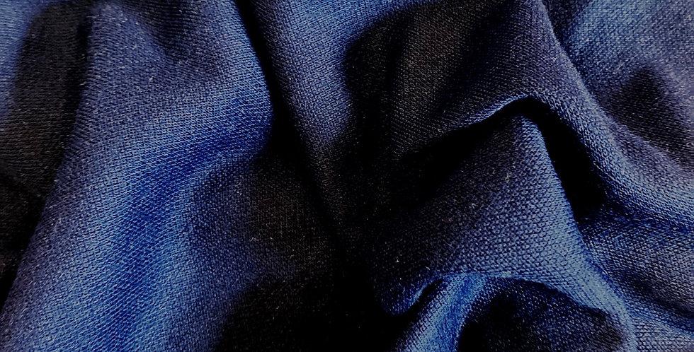 navy vintage 1980's lacoste knit remnant
