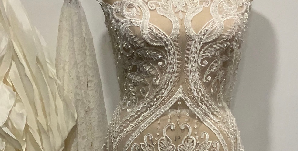 Yvette Beaded Bridal Lace....