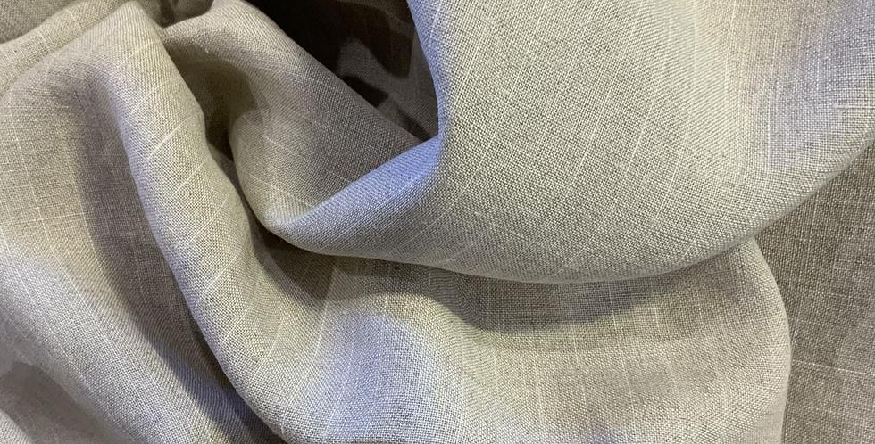 Capri Natural White Stripe Linen…