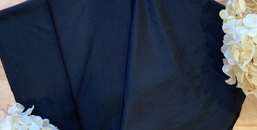 Black Silky Lingerie Spandex 50cm Piece...