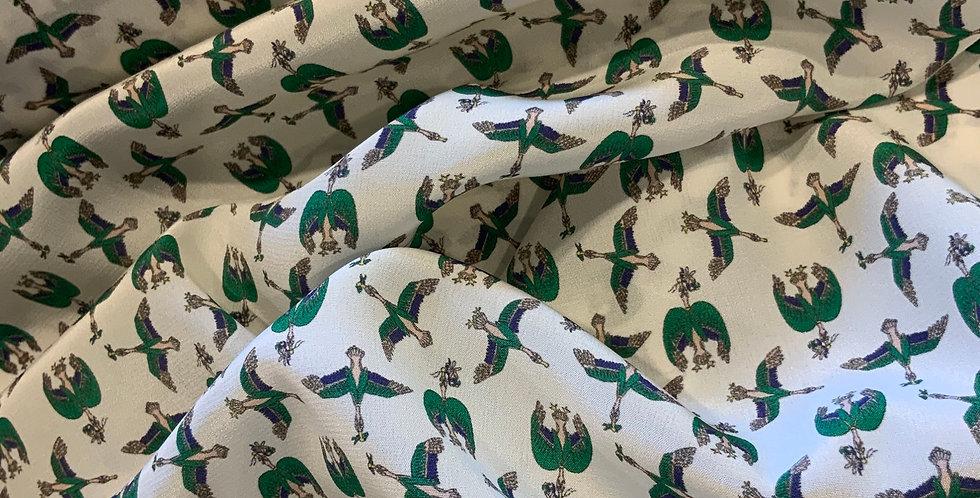 CRESCENDO Liberty Silk Crepe de Chine....