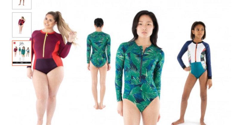 jalie zoe swimsuit printed pattern