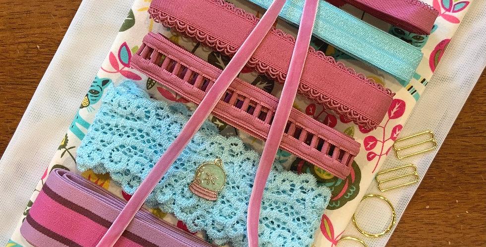 Art Gallery Fabrics Tigress Lollypop Oeko-Tex Lingerie Kit...