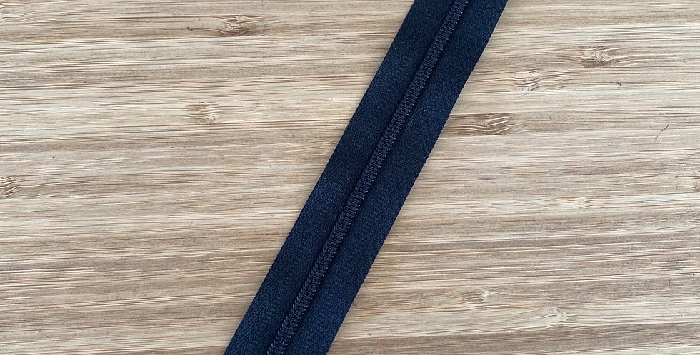 20cm black dress zip