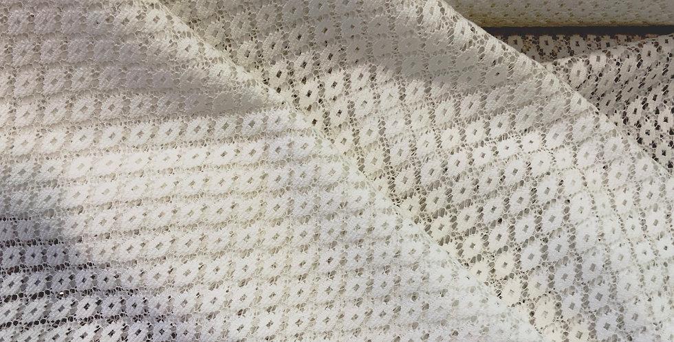 Izzy Soft White Diamond Lace...
