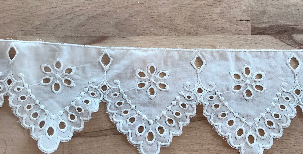 Alice embroidered lace trim