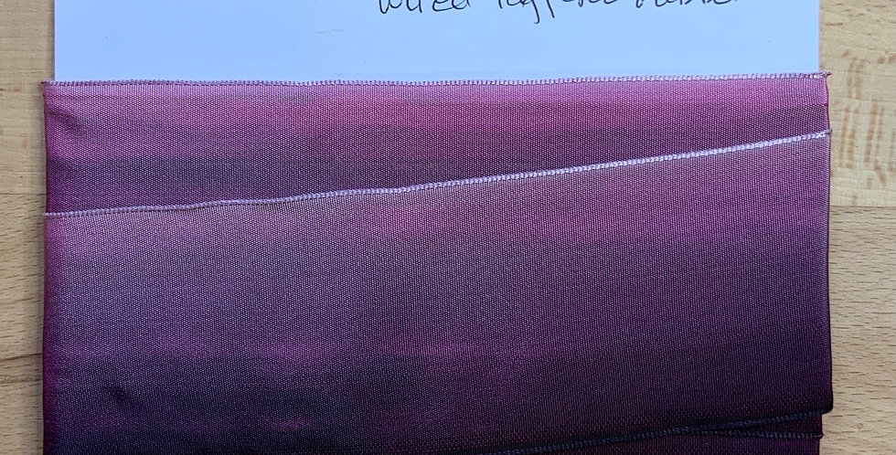 French Ombré Wired Taffeta Ribbon