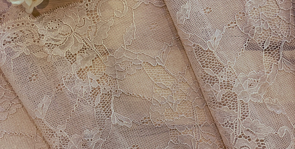 Golden Pearl Stretch Lace...