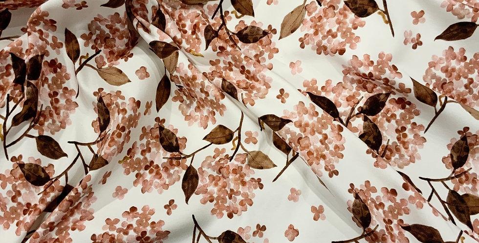 Family Fabrics Hortensia Rosy Cotton Jersey Small Cut…