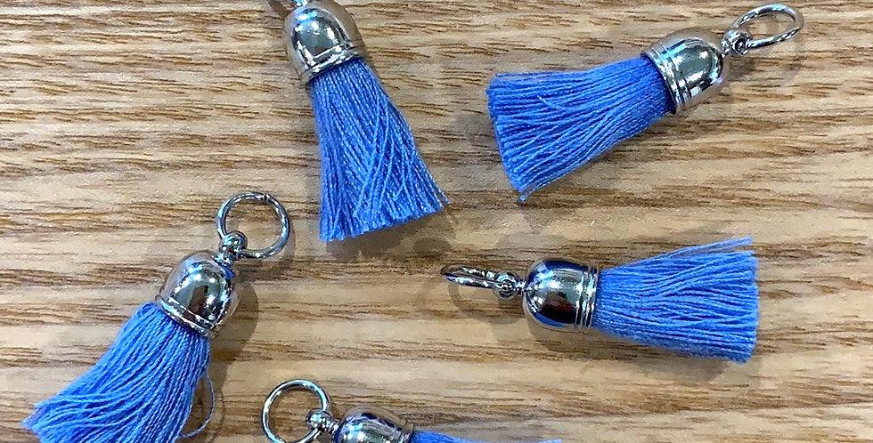 Blue Baby Tassles