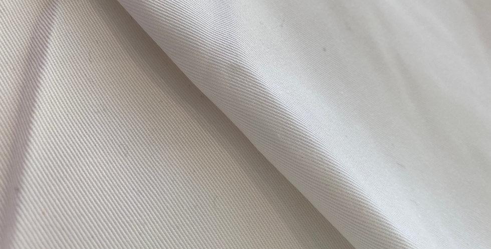 White cotton drill