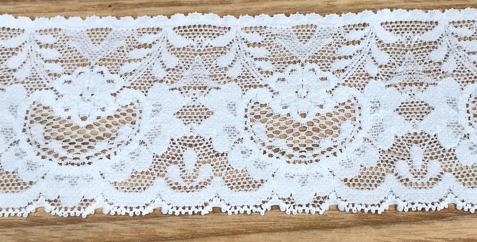 White garland lace