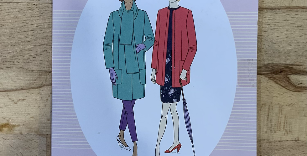 Sew Over It CHLOE COAT Sewing Pattern...