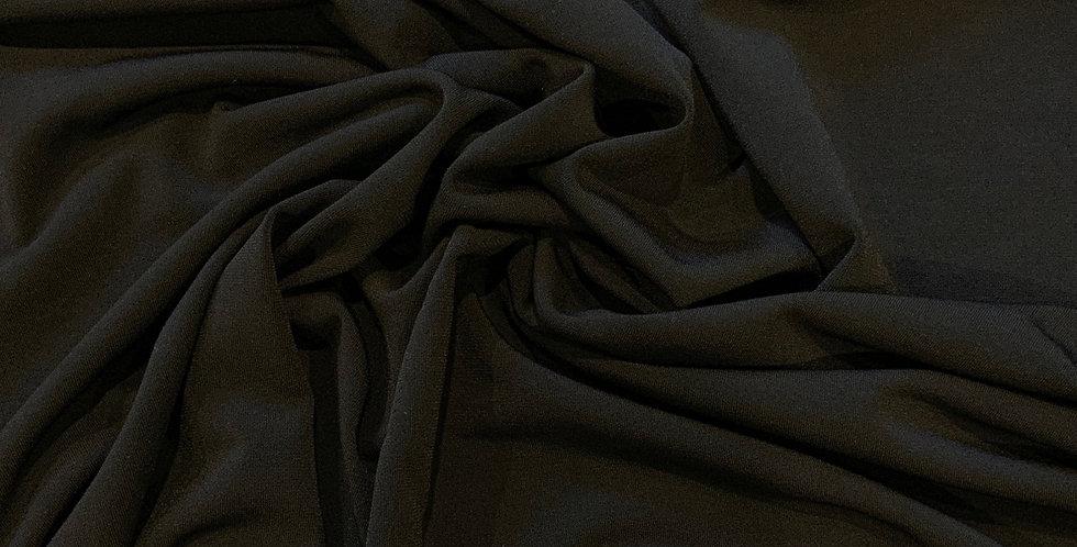 Black Polyester Jersey Remnant