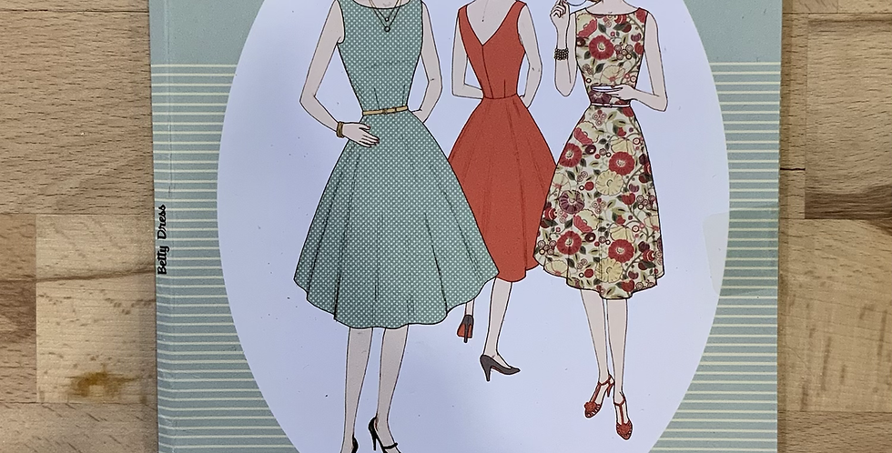 Sew Over It BERRY DRESS Sewing Pattern...