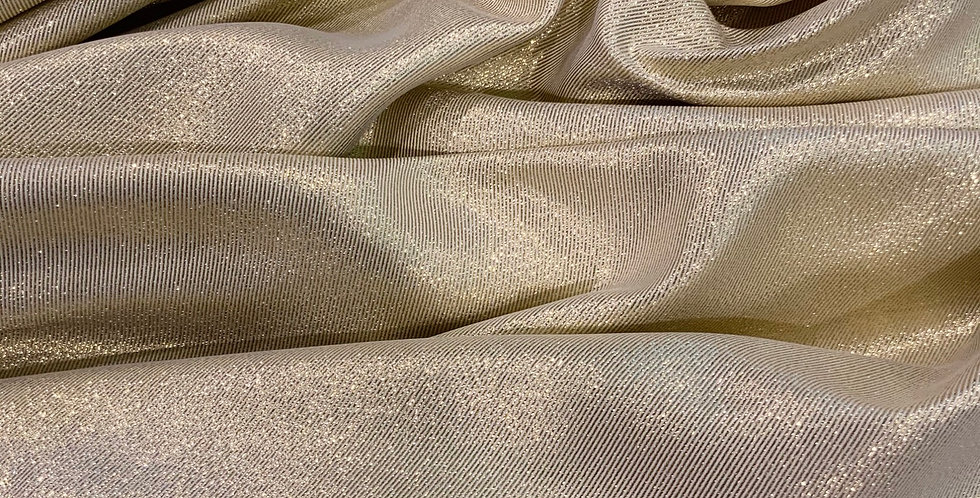 Moonlight Gold  Twill Suiting