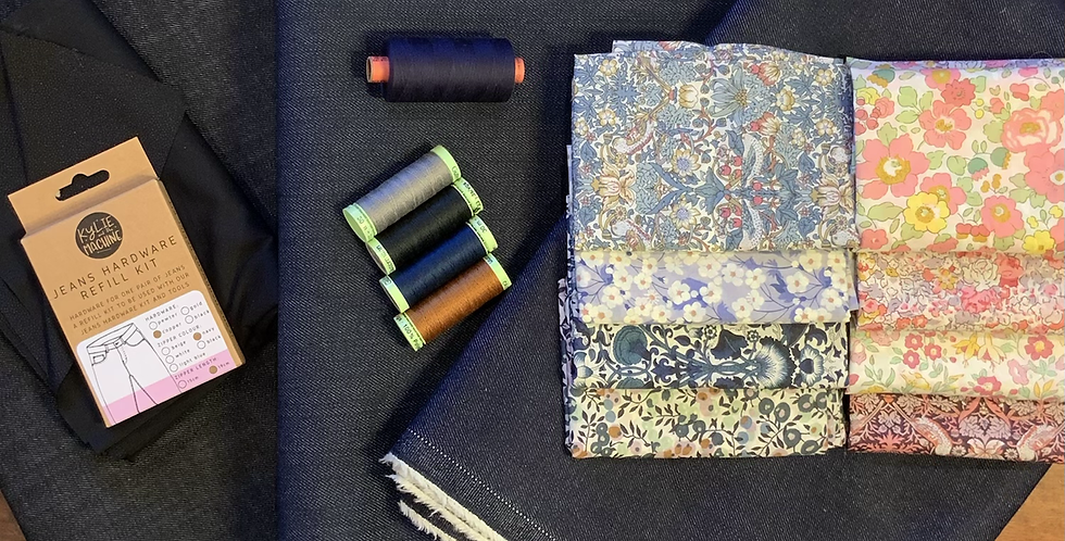 Ginger jeans basic supplies kit *liberty lining