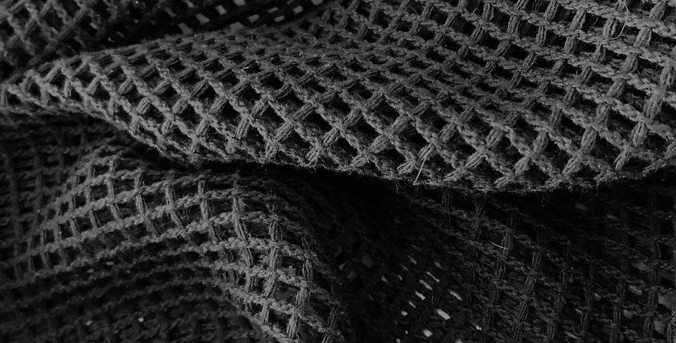 Black lattice lace