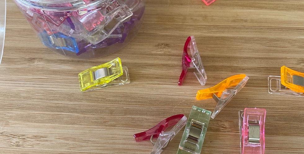50pieces mini handy clips
