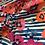 Thumbnail: Art Gallery Fabrics PAPAROUNES CRIMSON Knit 50cm piece…