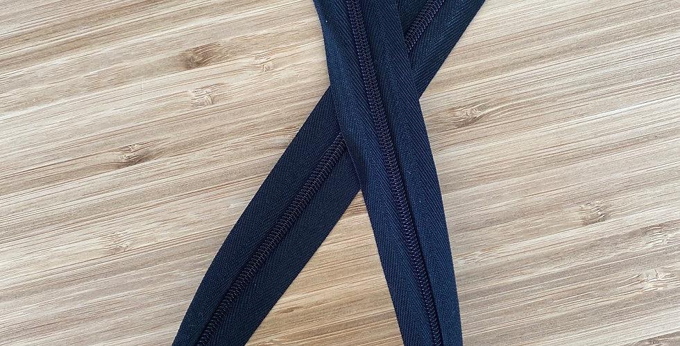 50cm black dress zip