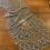 Thumbnail: Grey Plum Hand Beaded Tulle Off Cut #9058