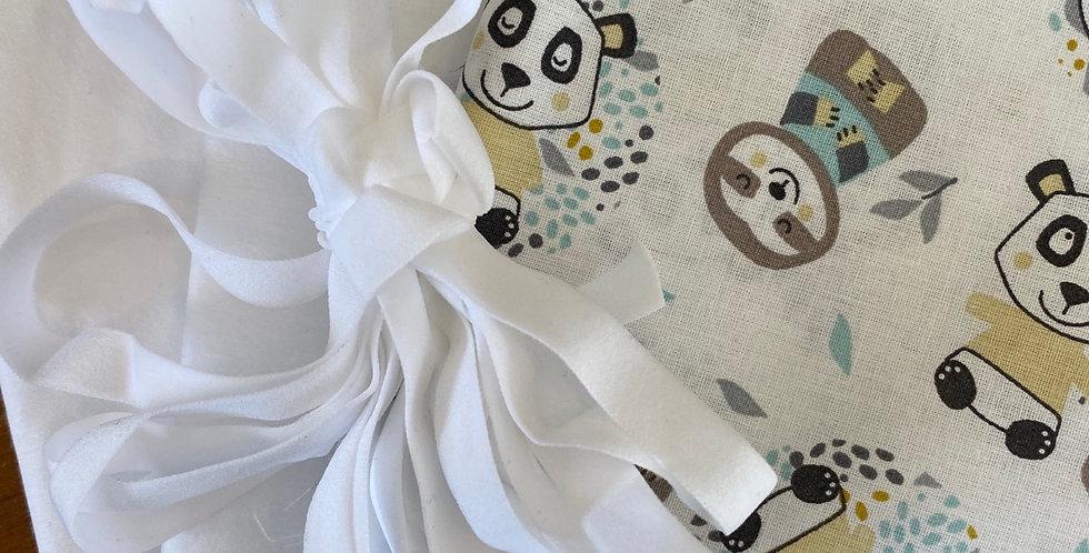 Panda friends face mask kit (makes 3 masks)