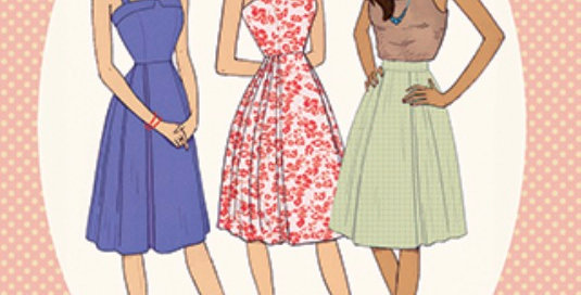 sew over it london rosie dress printed pattern