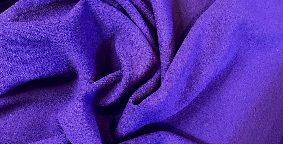 purple stretch crepe remnant