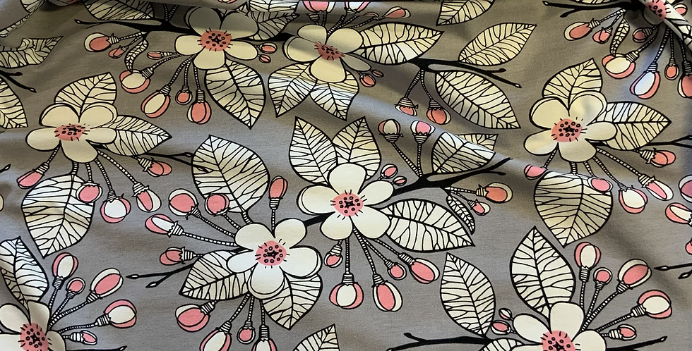 Paapii Apple Garden Organic Cotton Jersey