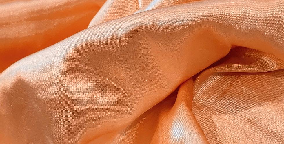 Apricot Polyester Satin...