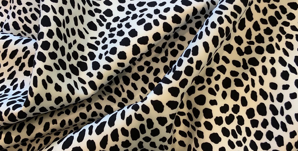 Wild Cat Bonded Polyester Jersey Suiting Remnant