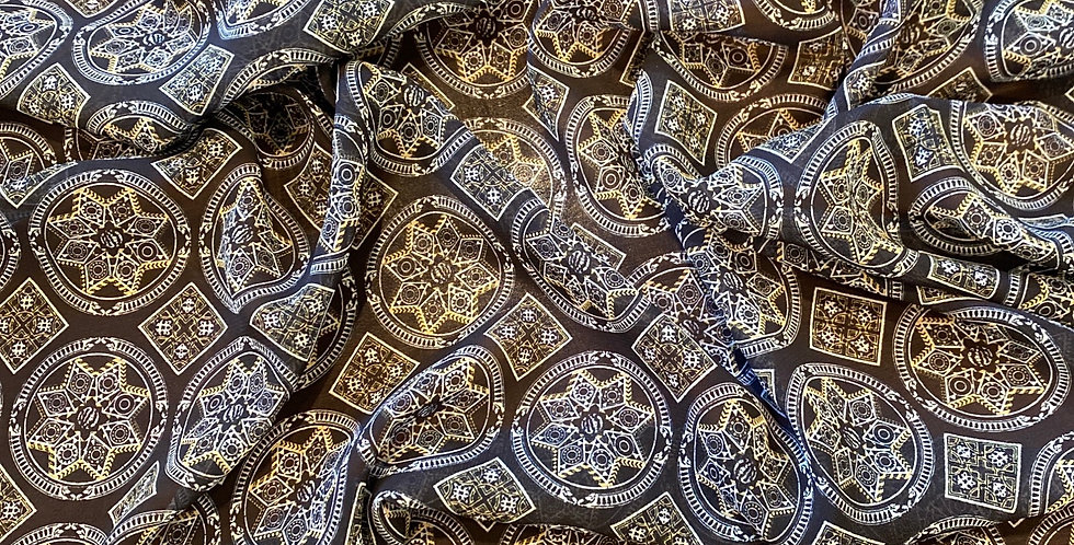 3mtr Bundle Moroccan Star Polyester Georgette...