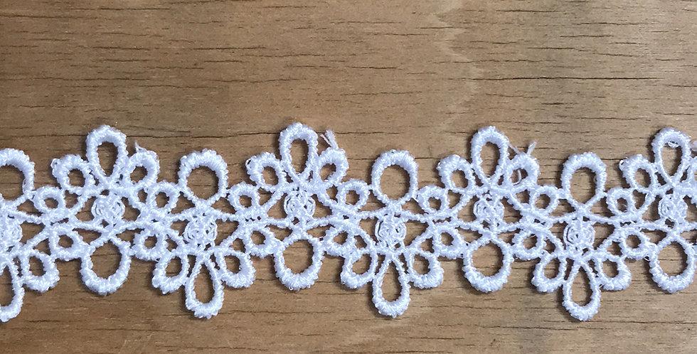 Delicate swirl lace