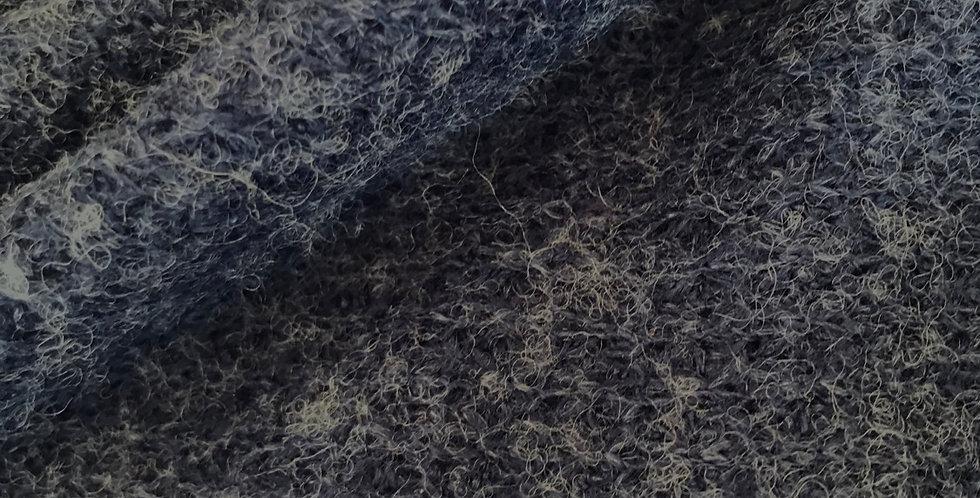 Navy Fleck Wool Blend Jumper Knit...