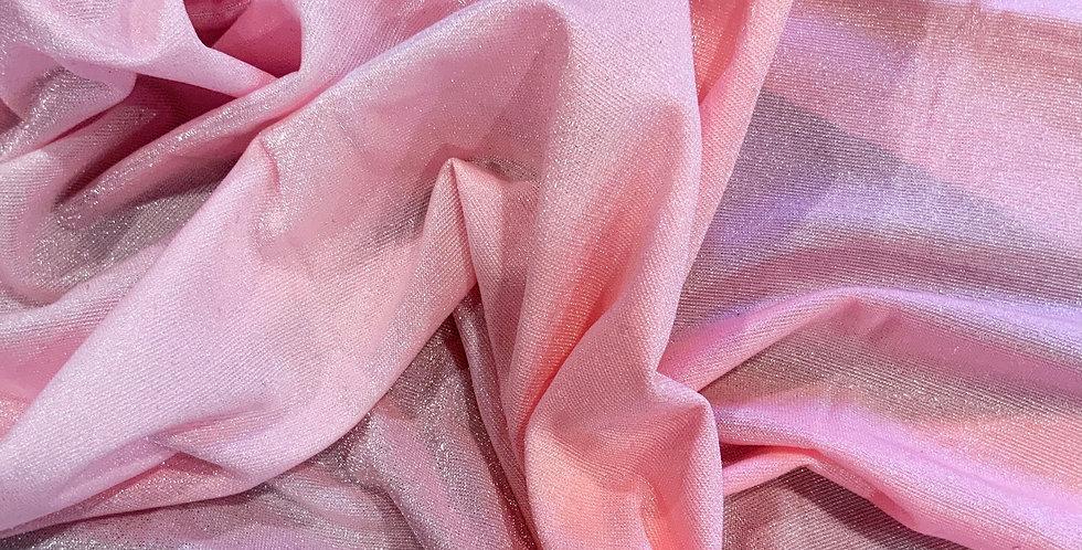 Bubblegum Hand Dyed Crystal Lycra Small Cut