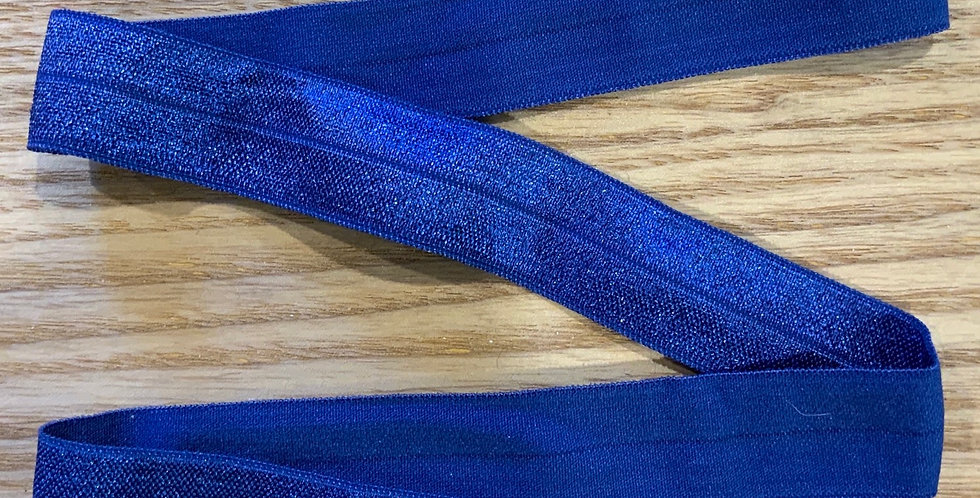 Royal Blue 20mm Satin Finish Foldover Elastic...