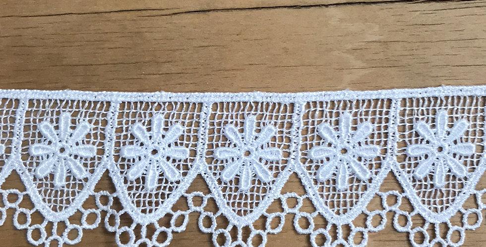 Dandelion drop lace